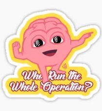 Lil Dicky's Brain Fanart Sticker