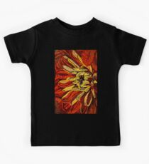 Fanciful, Cheerful Floral Mosaic Kids Clothes