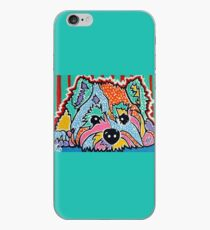 Cotton Candy Westie West Highland Dog Pet Terrier Scottish Scotland Cairn Border Glen Fox Kerri Schnauzer Norwich Norfolk Yorkshire Dogs Owner Lover Jackie Carpenter Art iPhone Case