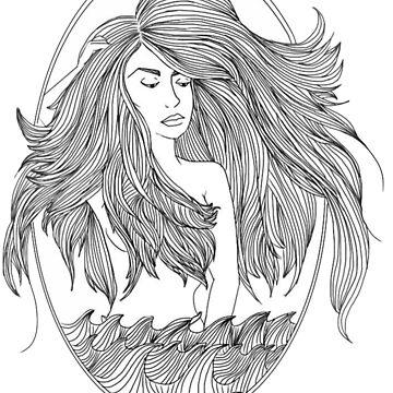 Mermaid by kaelynnmara