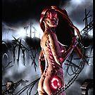 Cyberpunk Painting 090  by Ian Sokoliwski