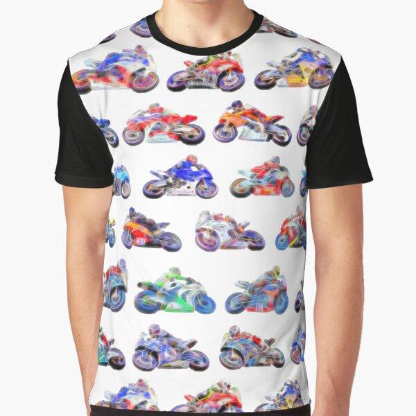 MotoGP Isle of Man TT II on white Graphic T-Shirt