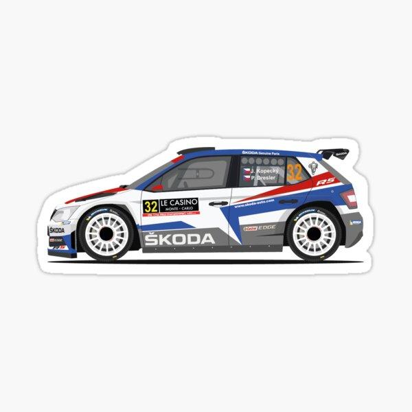 Decal Auto Tuning Sticker Fan Sticker I love my SKODA