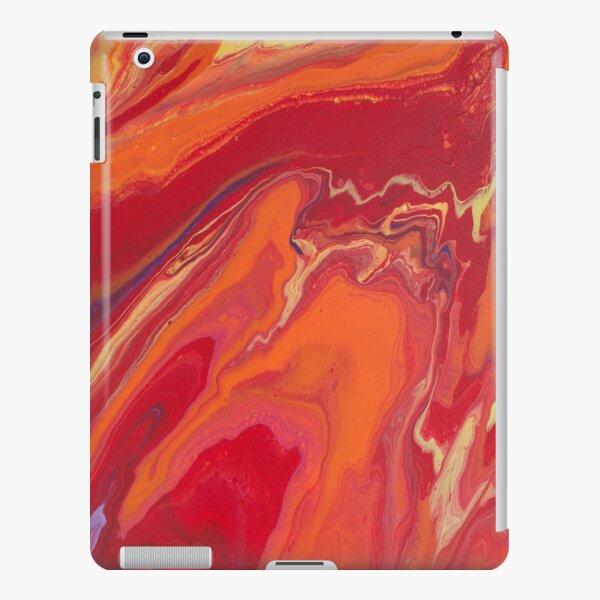 Sunset Geode Acrylic Painting iPad Snap Case