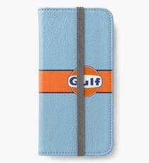Gulf horizontal stripe iPhone Wallet/Case/Skin
