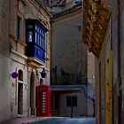 Maltese Alley Study by Edwin  Catania