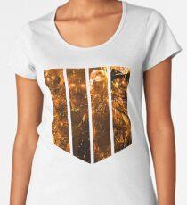 Camiseta premium de cuello ancho Zombies 4