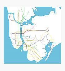 Subway Series- New York Photographic Print