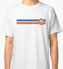 Gulf horizontal stripes Classic T-Shirt