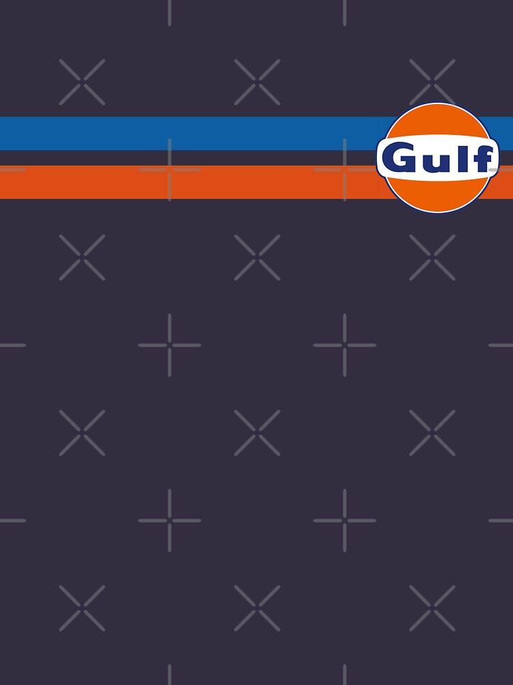 Horizontale Streifen Golf von JRLdesign