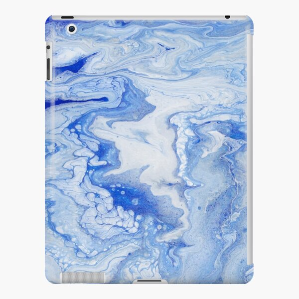 Wintry Fairy Land: Acrylic Pour Painting iPad Snap Case