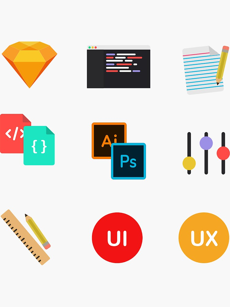 UI/UX Sticker Pack by sirajcho