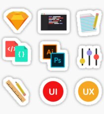 UI/UX Sticker Pack Sticker