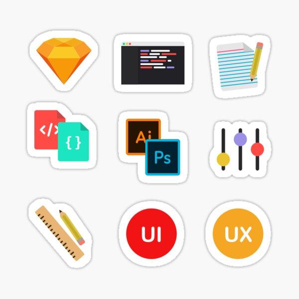 UI/UX Sticker Pack Sticker