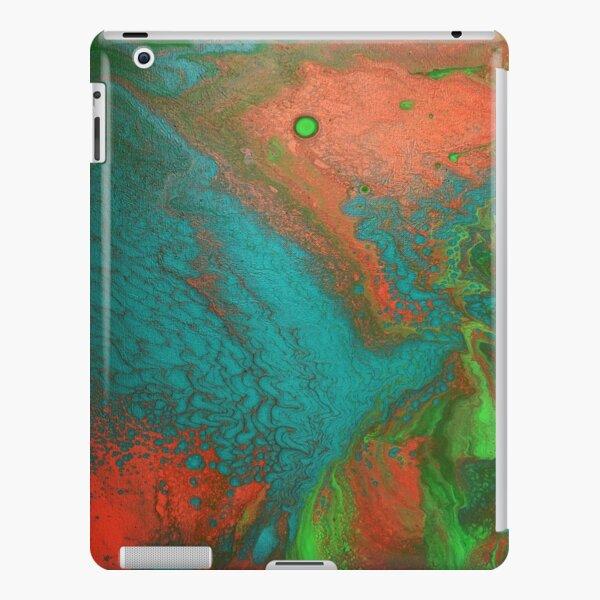 Rusty Jade: Acrylic Pour Painting iPad Snap Case