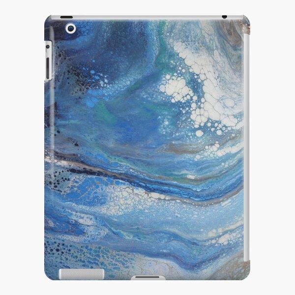 Sea Spray: Acrylic Pour Painting iPad Snap Case