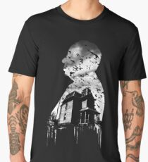 Alfred Hitchcock Collage Men's Premium T-Shirt