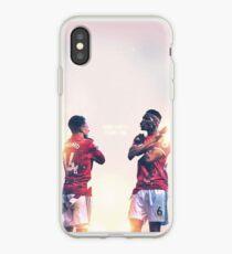 Jesse Lingard und Paul Pogba von Manchester United Wakanda für immer feiern iPhone-Hülle & Cover