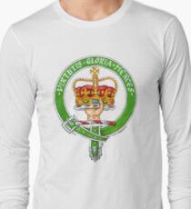 Scottish Crest of Clan Robertson Long Sleeve T-Shirt