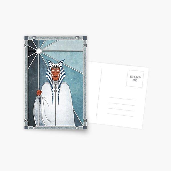 blanc Carte postale