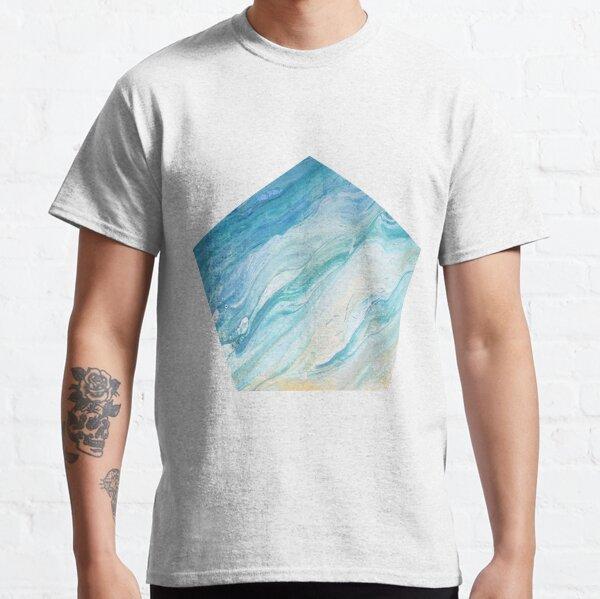Calm Seas: Acrylic Pour Painting Classic T-Shirt