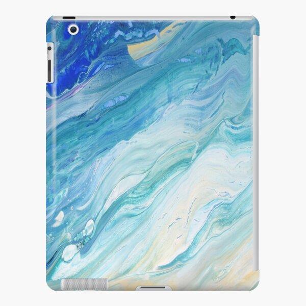 Calm Seas: Acrylic Pour Painting iPad Snap Case