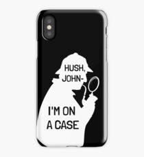 I'm on a (phone-) case iPhone Case/Skin