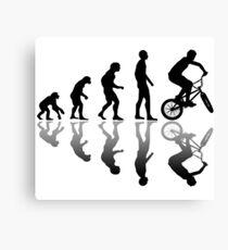 Evolution BMX bike Canvas Print
