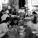 Street Barbeque in Hanoi Old Quarter by Matt Bishop