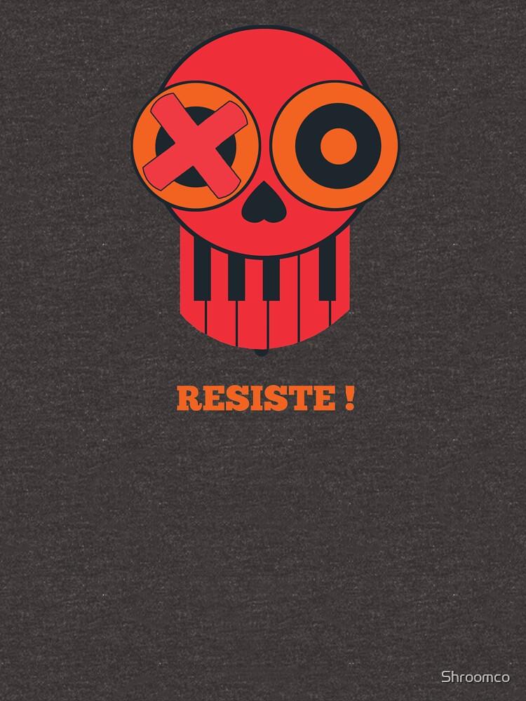 Skull - resist by Shroomco
