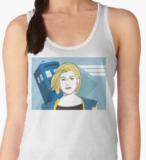 The Doctor in the 80s Women's Tank Top