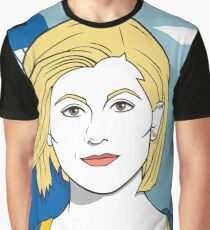 The Doctor in the 80s Graphic T-Shirt