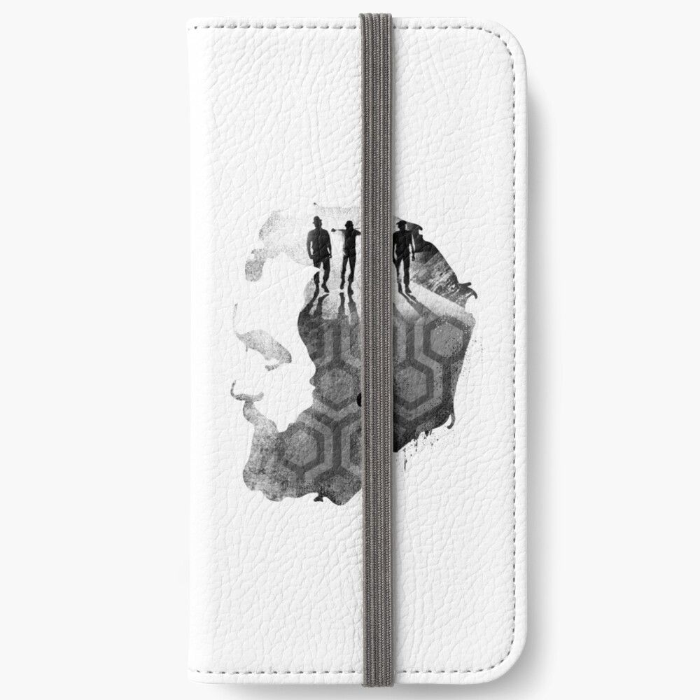 Stanley Kubrick Collage iPhone Wallet