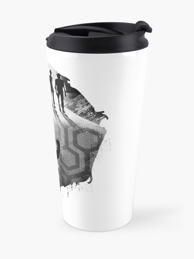 Alternate view of Stanley Kubrick Collage Travel Mug