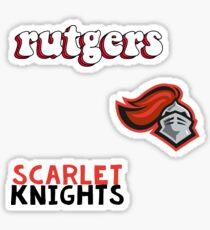 Rutgers Minis Sticker