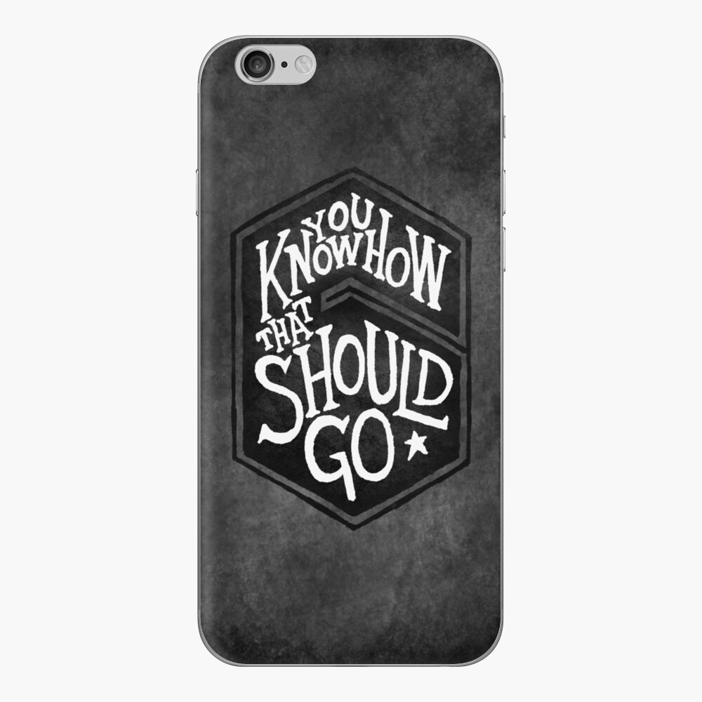 Drake - You Know How That Should Go iPhone Skin