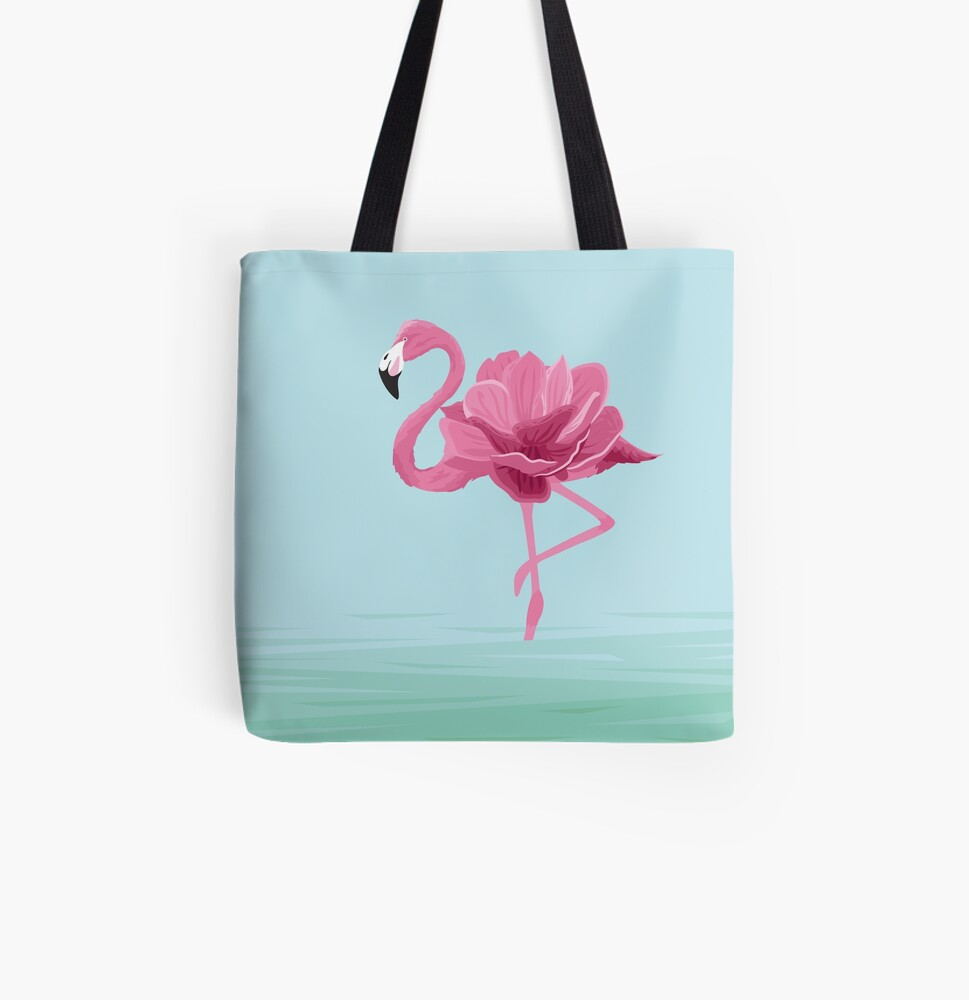 Flowermingo All Over Print Tote Bag