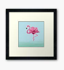 Flowermingo Framed Print