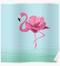 Flowermingo Poster