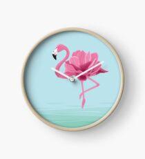 Flowermingo Clock