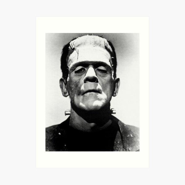 Classic Frankenstein Art Print