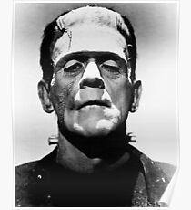 Classic Frankenstein Poster