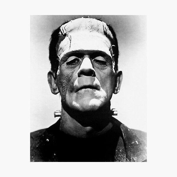 Classic Frankenstein Photographic Print
