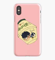 P5 banana milk iPhone Case