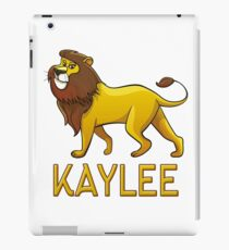Kaylee Lion Drawstring Bags iPad Case/Skin