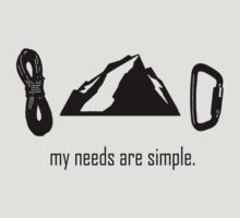 Simple Needs (Rock Climbing)
