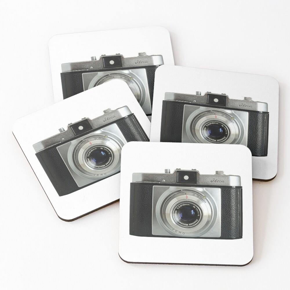 iLoca 35mm Camera Coasters (Set of 4)