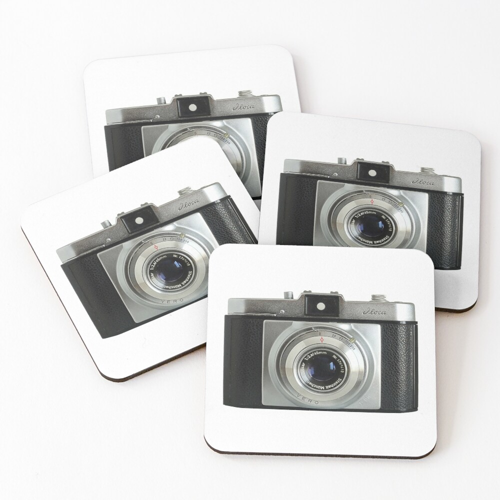 iLoca 35mm Camera Coasters (Set of 4)