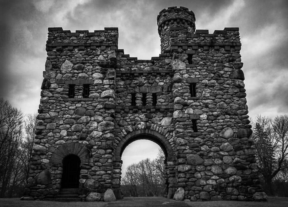 Bancroft Tower, Worcester, Massachusetts by Gary Hoare