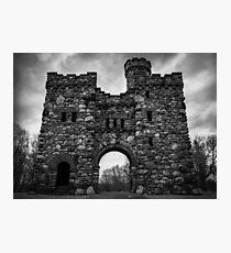 Bancroft Tower, Worcester, Massachusetts Photographic Print